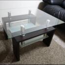 デザイナーズガラステーブル