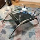 ニトリ ガラス ローテーブル