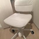 パソコン・オフィス・デスク用チェア(椅子、白・ホワイト)