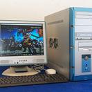 ライトゲーミングパソコン 自作系フルセット Windows10Pr...