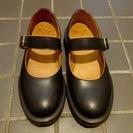 ドクターマーチン レディース約23センチ 1本ベルトの靴