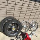 gn125 用 ホイール タイヤ新品