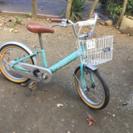 【交渉中】【手渡し】子供用 自転車 1500円