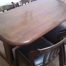 ミキモク ダイニングテーブル 椅子4つ