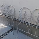 アイアン ガーデンフェンス 3枚セット