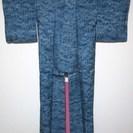 #11072 身丈152 紬 小紋 着物 Kimono ★3