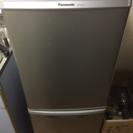 冷蔵庫 PANASONIC NR-B145W
