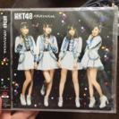 HKT劇場版シングルCDです。