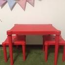 子供用テーブル&椅子セット