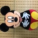 ミッキーマウスのクッション