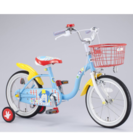 新品ミッキーマウス子供用自転車18☆