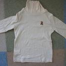美品☆ミキハウス 日本製ハイネックTシャツ 90