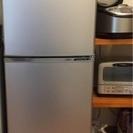 冷蔵庫 アクア AQUA 137L 2ドアノンフロン冷蔵庫 201...