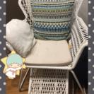 【IKEA】ガーデンチェア(オットマン付)