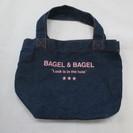 (B-110) BAGEL&BAGEL デニムミニ トートバッグ...