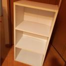 三段ボックス 棚 ホワイト