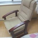 ★美品!!リクライニングできる高座椅子です★