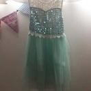エルサのキッズサマードレス