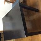 ダイニングテーブル 黒色 2人〜4人用