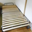 折りたたみすのこベッド ニトリ シングルベッド