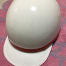 コルク半 ヘルメット 白