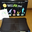 wii fit plus バランスボード 黒 中古品(美品)