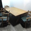 021613 カリモク家具! 4人ダイニングテーブルセット♪