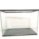 値下げしました 400×250×250mm ガラス製 水槽