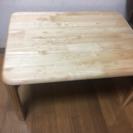 美品 木目テーブル