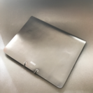 iPad3  4 対応  高級本革フラップケース 美品