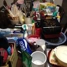 【一式大処分】実家解体につき 小物・台所用品・食器・雑貨・寝具・額...