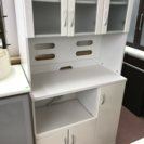 Y キッチンボード 白 レンジ台 食器棚