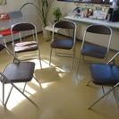 【無料】パイプ椅子5脚もらって下さい。