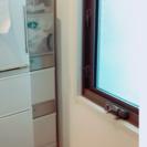 スリム収納棚 ゴミ箱 ホワイト