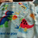 恐竜の毛布ブランケット