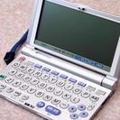 SHARP シャープ PW-M800 電子辞書 シルバー 国語/英...