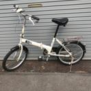 ライト付き自転車