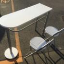 カウンターテーブル&チェアのセット