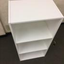 カラーボックス白①