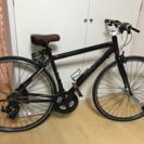 クロスバイク 新品に近い 2016年 室内で保存 オシャレ色
