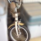 新品・未使用の黄色い子供用自転車