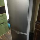 ナショナル冷蔵庫2ドア(下段冷凍室)