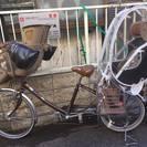 3人乗り自転車 (幼児2人同乗用自転車)