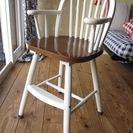 木製ベビーチェア(ハイチェア)食事椅子 難あり 引き取り歓迎