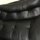 黒ソファベッド