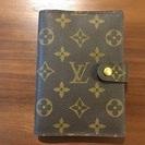 ルイヴィトンの手帳カバー(モノグラム)