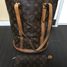 LOUIS VUITTON ルイヴィトン モノグラム バケット ミ...