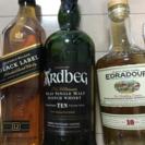スコッチウイスキー3本まとめて♫
