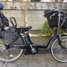 紫色)  美品  BS  電動自転車 3人