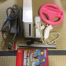Wii本体  スーパーマリオブラザーズのソフト付